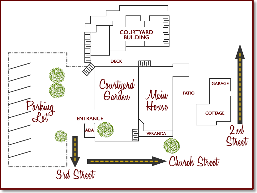 inn at occidental property map