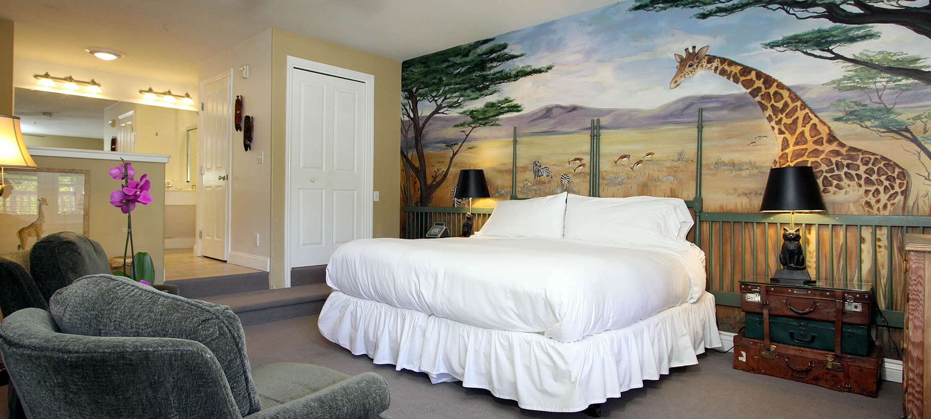 safari room sonoma wine country inn